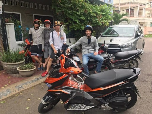 Thuê xe máy ở Quy Nhơn ở đâu